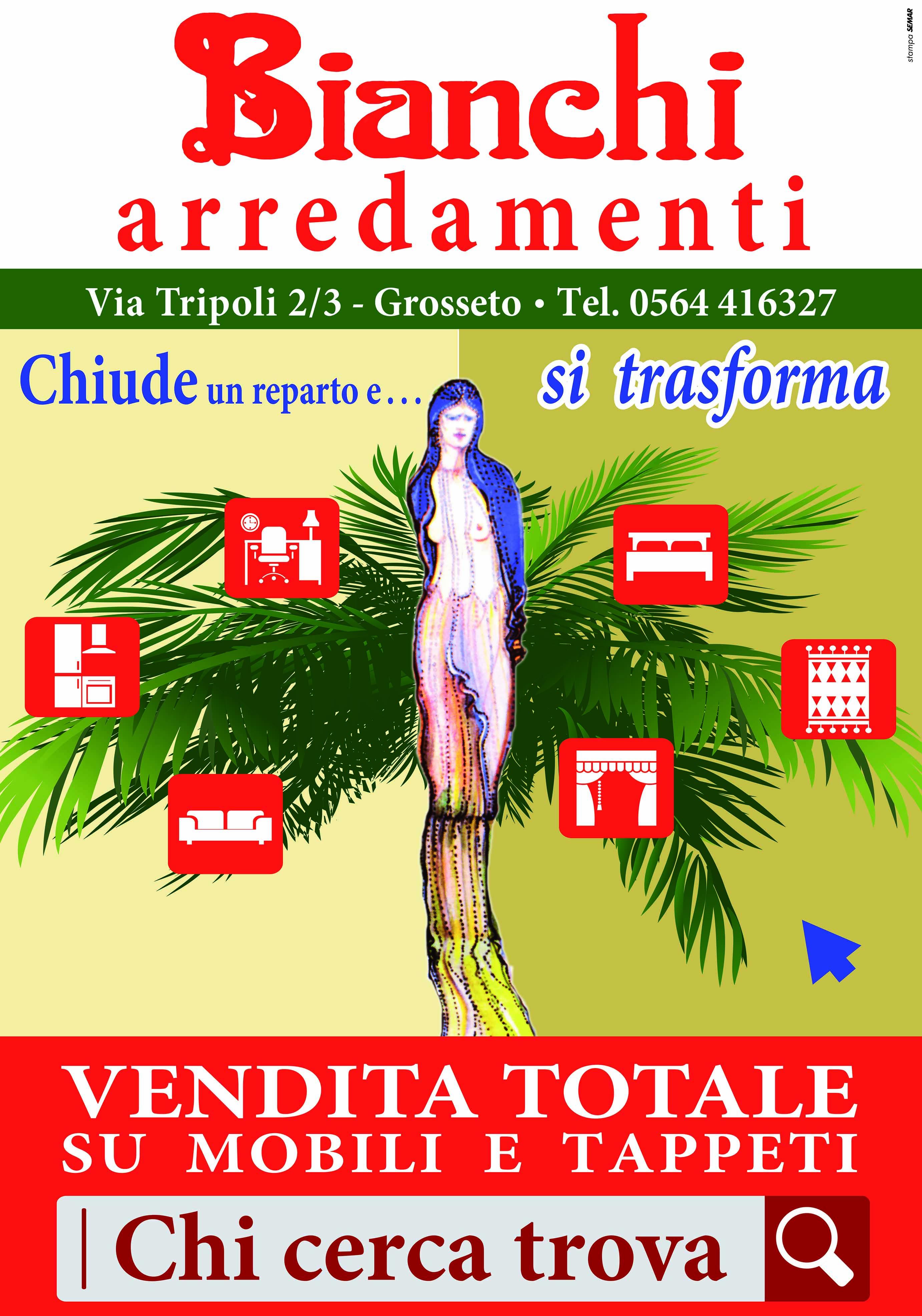 Bianchi arredamenti offerte speciali maremma toscana for Turco arredamenti offerte